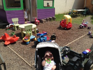 Jellybread Cafe's backyard is a delight for kiddies