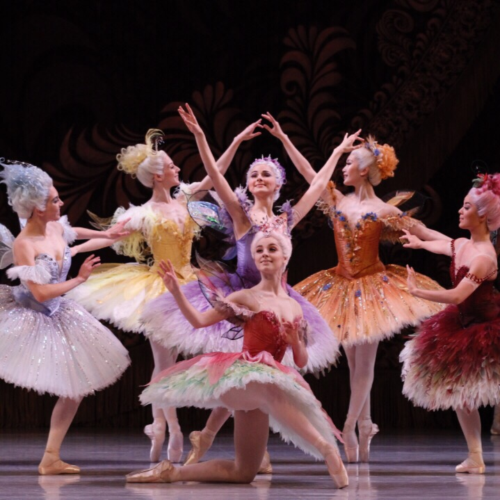 Fairies in The Sleeping Beauty. PIC: The Australian Ballet