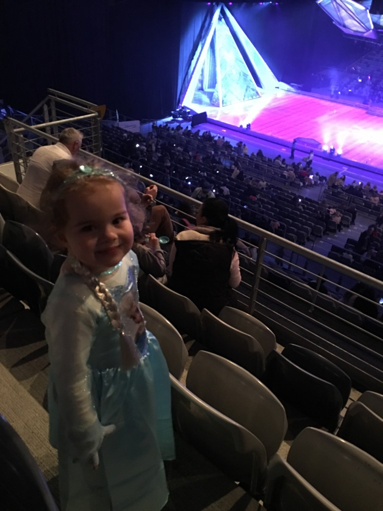 Millie loved every second of Disney on Ice presents Frozen.