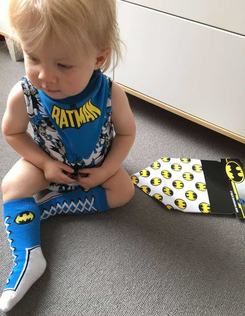 Finn in his super cool Super Hero gear from Best & Less